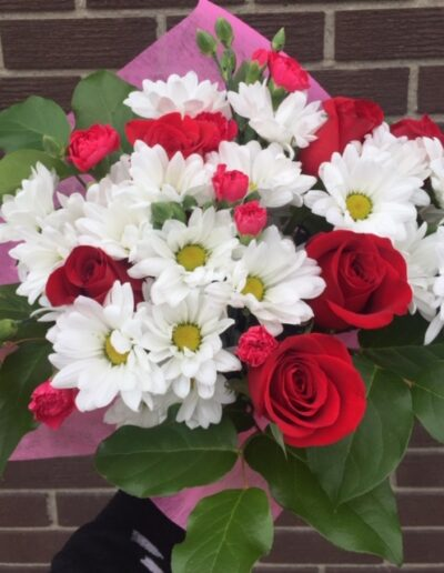 THE ROSE DAISY BOUQUET $30