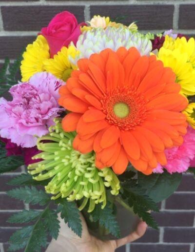 Spring/Summer designer's choice mixed vase arrangement $40